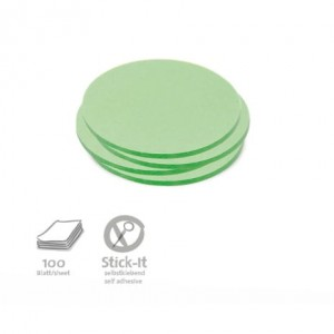 Small Circular Stick-It Cards