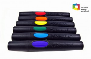 Rainbow set of 6 markers - Neuland No.One®