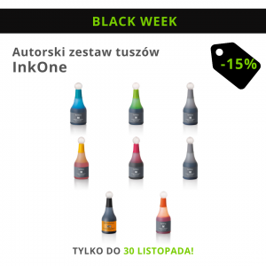 Autorski zestaw tuszów: Ink.One (do Best.One i Big8)